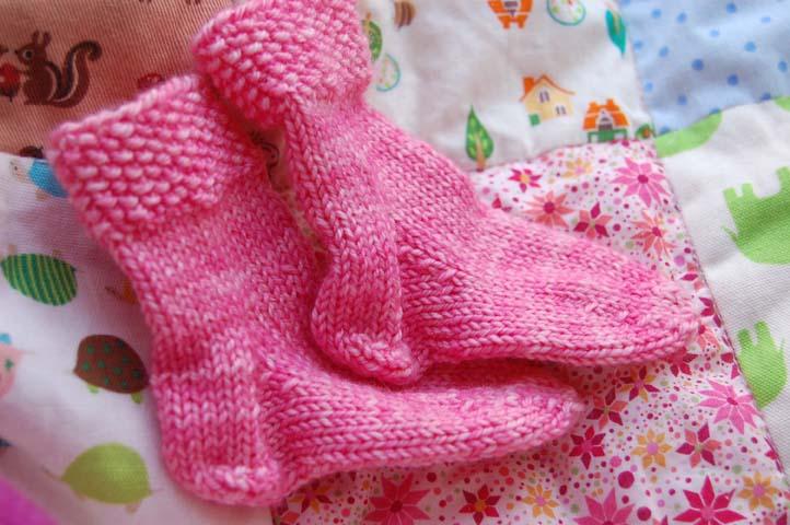Pink knitting 2